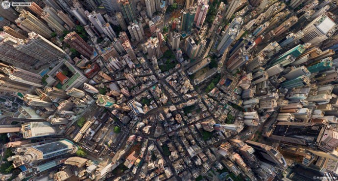 HongKong from above