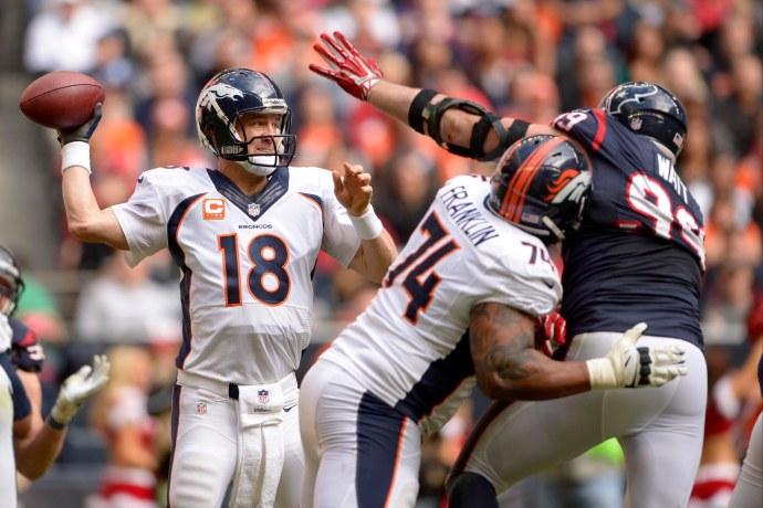USP NFL: DENVER BRONCOS AT HOUSTON TEXANS S FBN USA TX