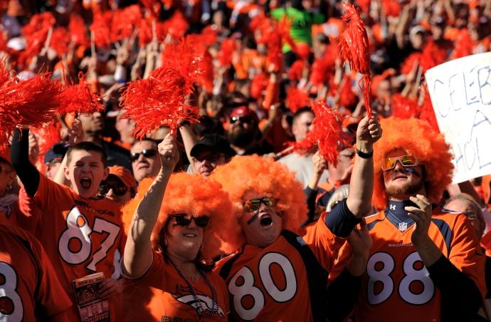 Denver Broncos vs. The New England Patriots